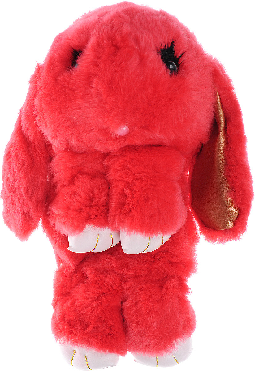 Vebtoy Рюкзак дошкольный Пушистый кролик цвет красный