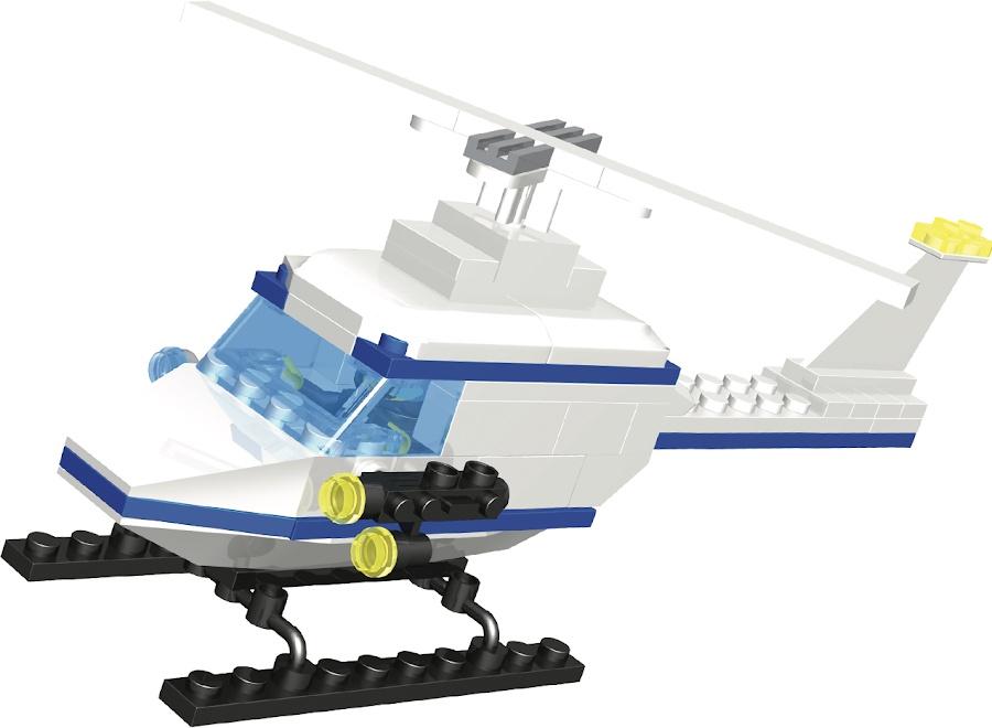 Пластиковый конструктор Город Игр GI-6274