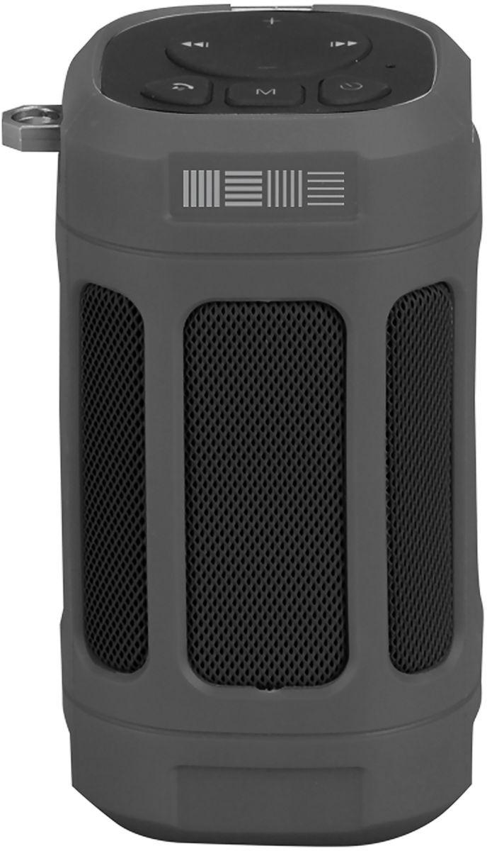 Портативная акустическая система Interstep SBS-120, серый