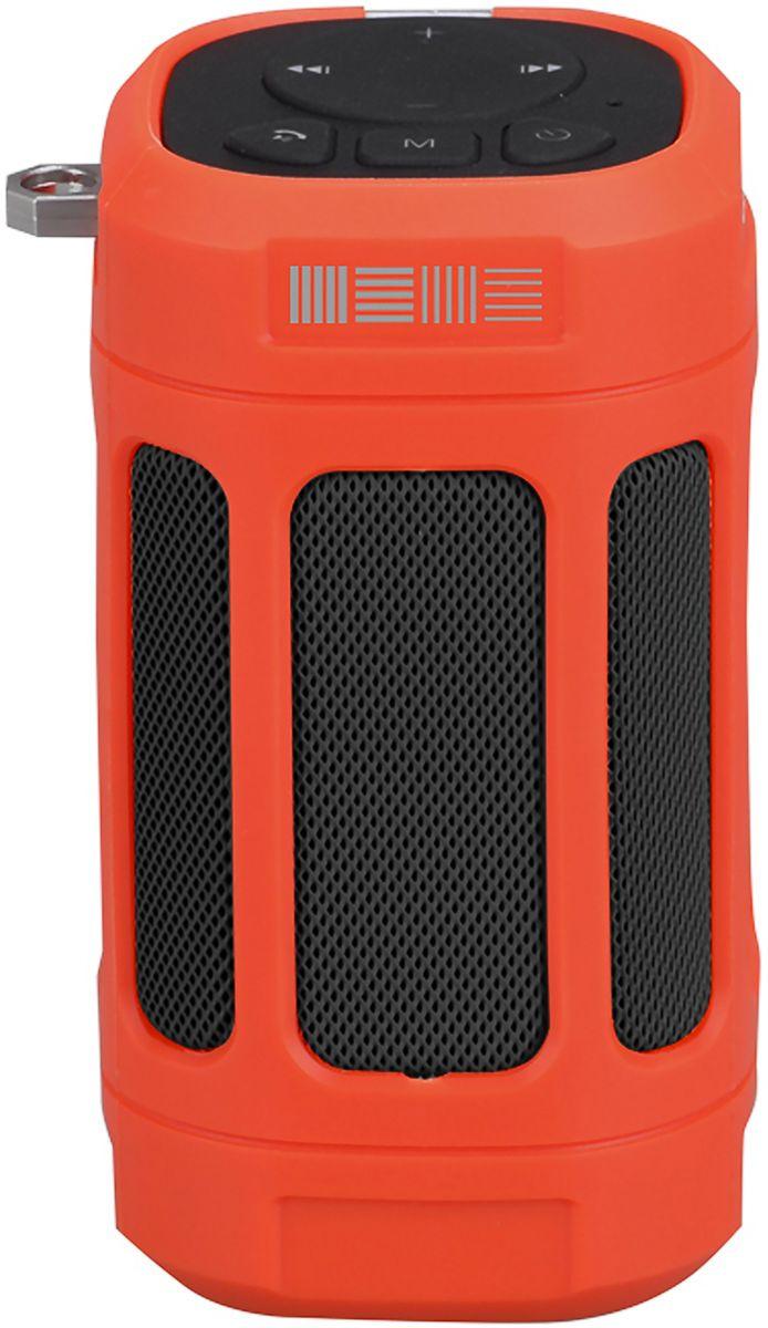 Портативная акустическая система Interstep SBS-120, красный цена