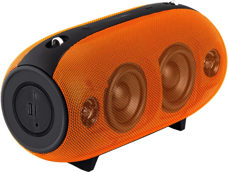 Портативная акустическая система Interstep SBS-380, оранжевый