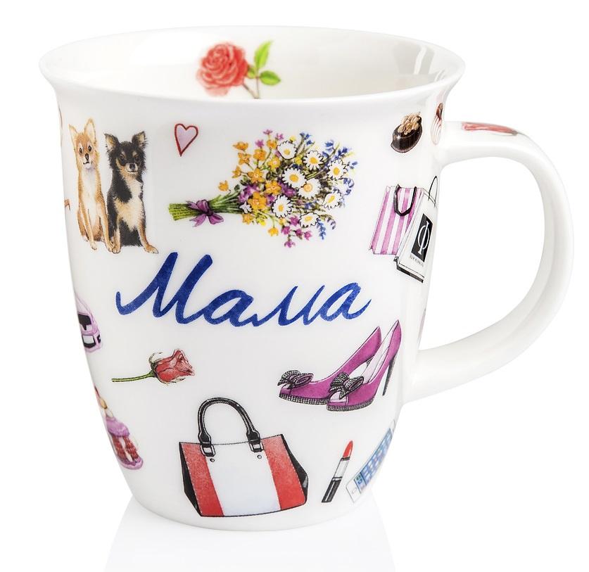 Чашка кофейная Dunoon DNN78016991, белый, разноцветный