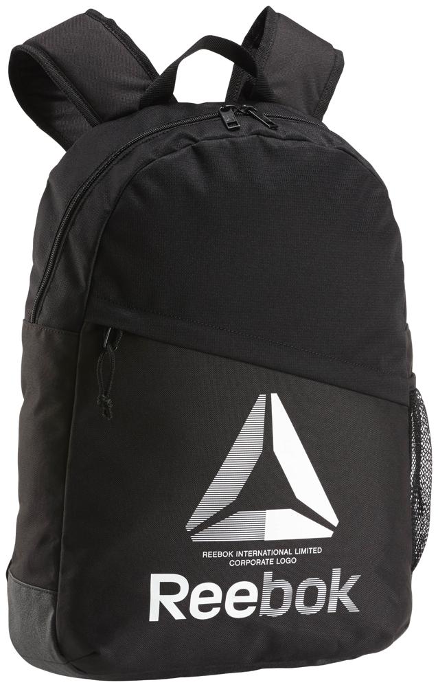 Рюкзак Reebok Te M Bckpck, EC5573, черный куртка мужская reebok od dwnlk jckt цвет черный d78631 размер m 50
