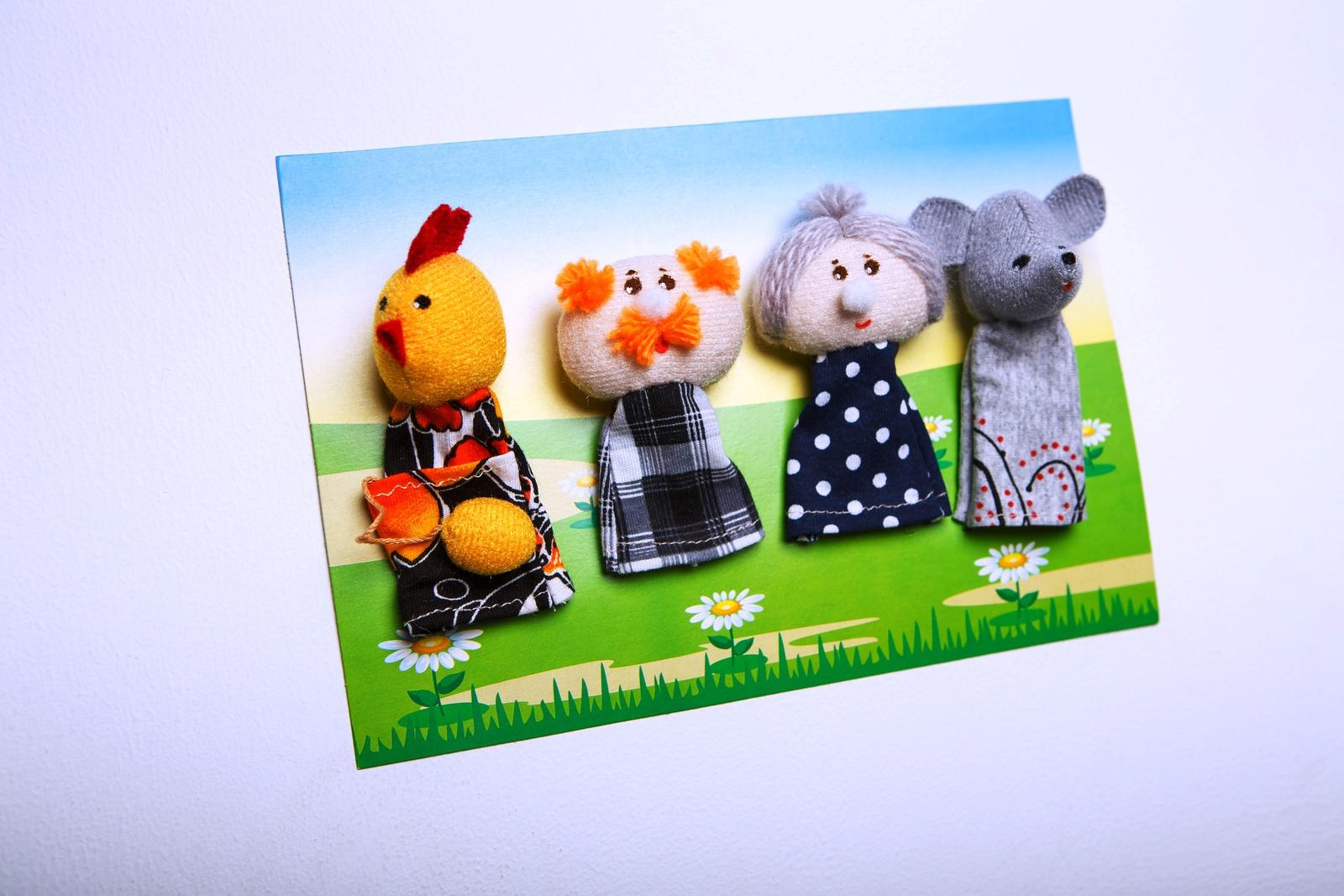 Кукольный театр Наивный мир 017.06 разноцветный