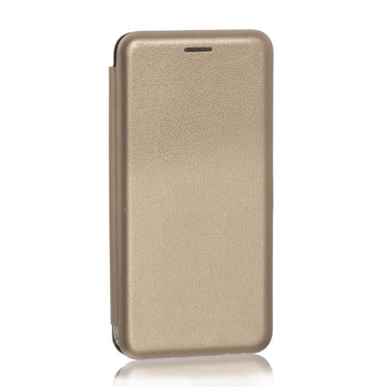 Чехол книжка Samsung Galaxy M10 2019 / A10 2019 (SM-A105FN) золотой