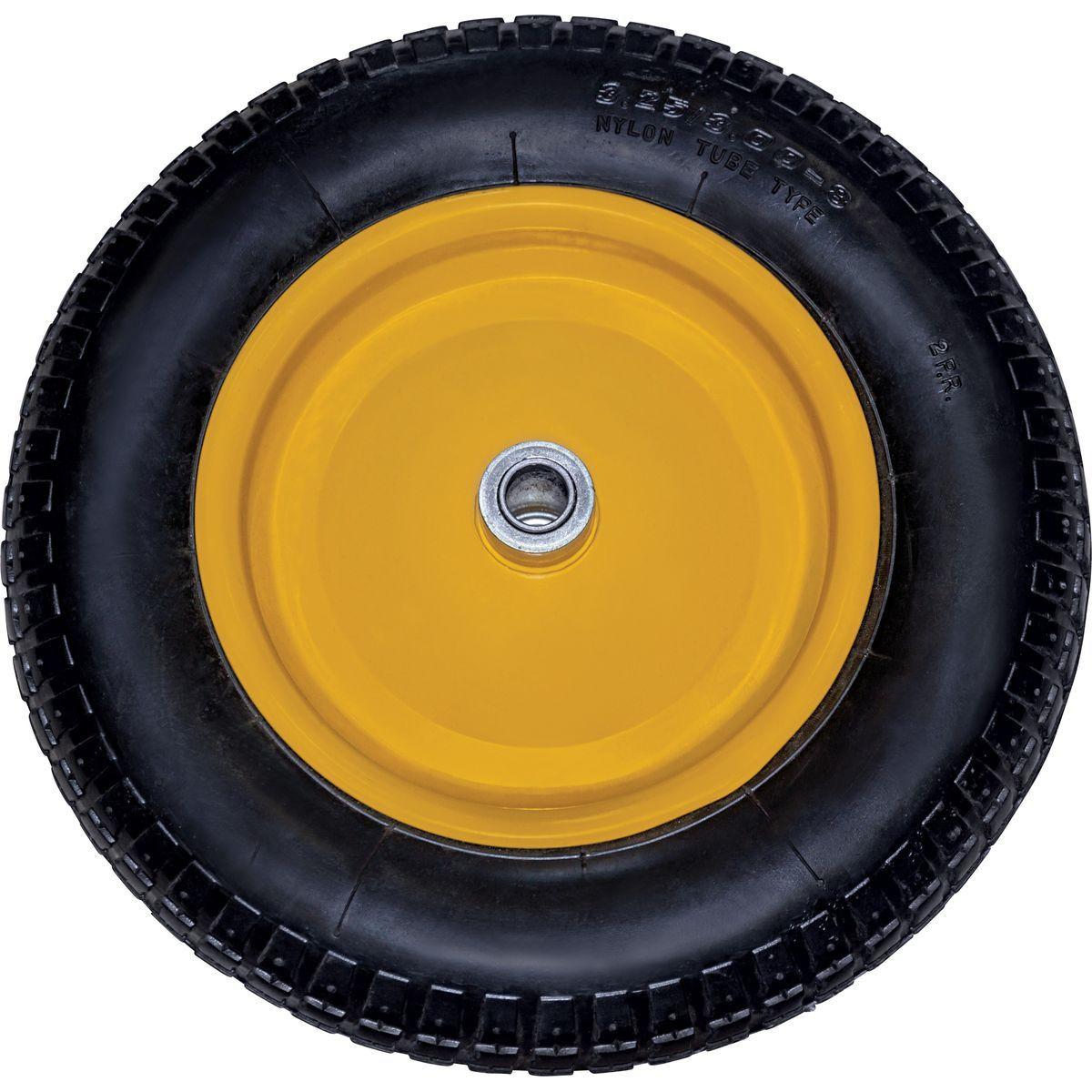 Запасное колесо для тачки Park WB5302, 092807, желтый, 350 мм автохолодильник mercy park 350 550 750 950 e50 w5