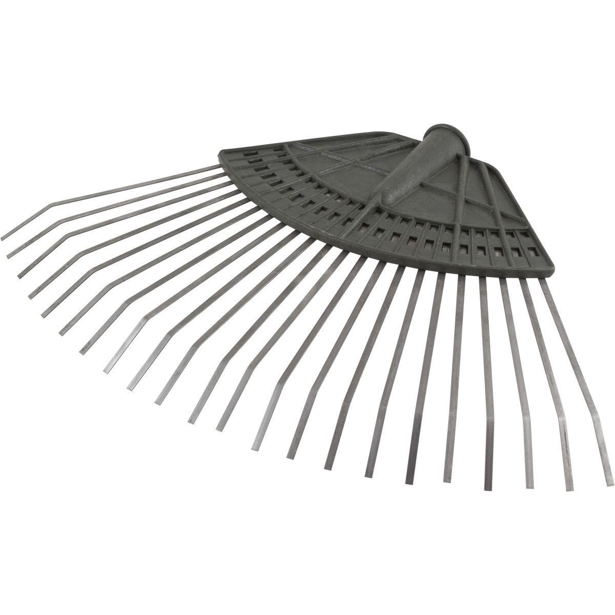 Грабли веерные Заря, 090332, серый игрушка уфа грабли веерные у493