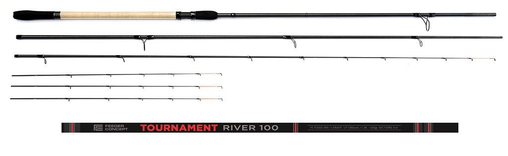 цена на Удилище Feeder Concept Tournament River 100 3.90, FCTO100-390