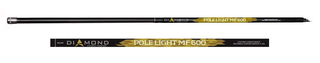 Удилище Salmo Diamond Pole Light MF 6.00, 2233-600