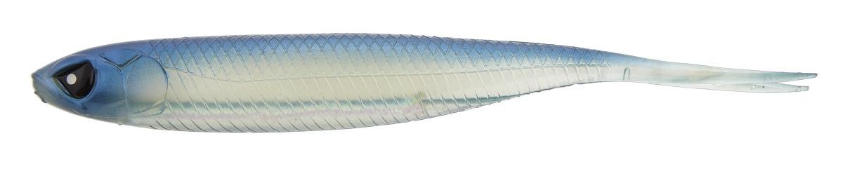 Виброхвост Lucky John 3D Series Makora Split Tail 5.0, 140411-001, 127 мм, 4 шт виброхвост lucky john pro series minnow 3 3 140143 t18 84 мм 7 шт