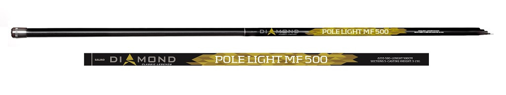 Удилище Salmo Diamond Pole Light MF 5.00, 2233-500