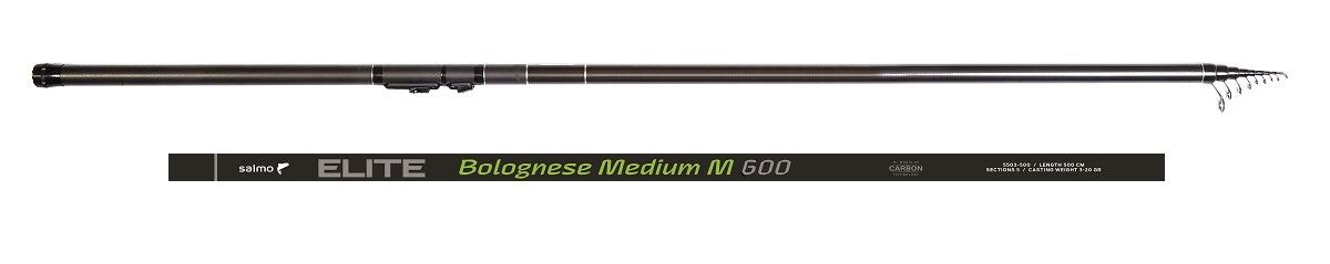 Удилище Salmo Elite Bolognese Medium M 6.00, 5503-600 удилище salmo picker 30 2 70