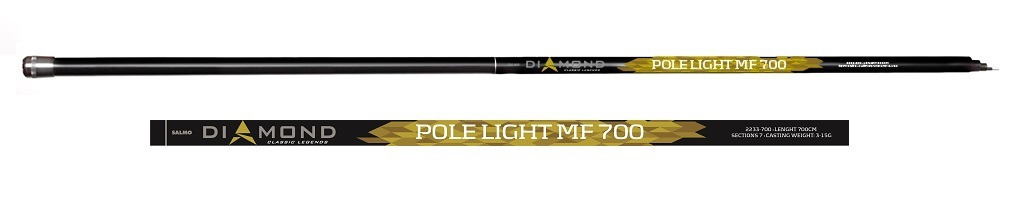 Удилище Salmo Diamond Pole Light MF 7.00, 2233-700