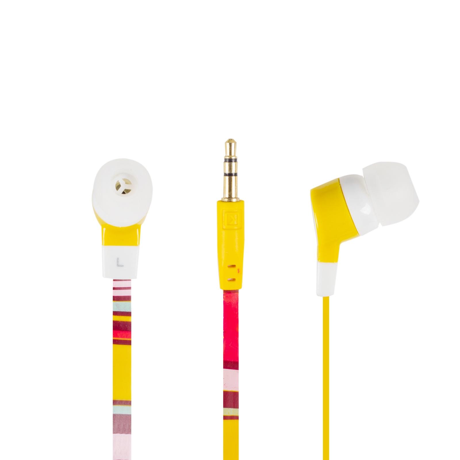 все цены на Наушники Oxion вакуумные, проводные, с силиконовыми накладками онлайн