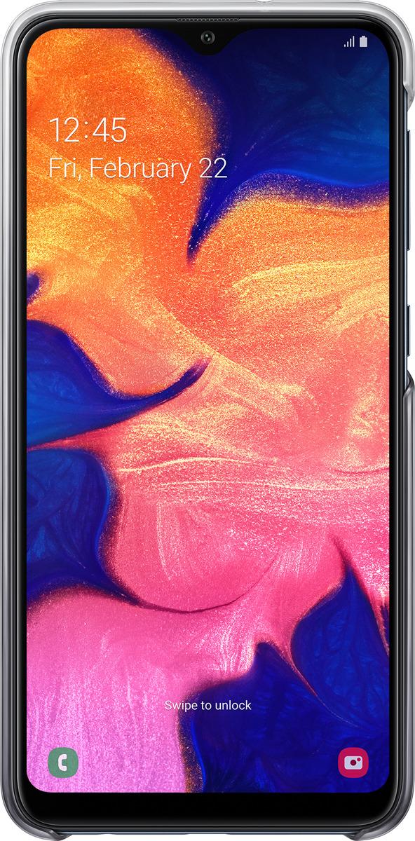 Чехол-накладка Samsung Gradation Cover для Samsung Galaxy A10, черный
