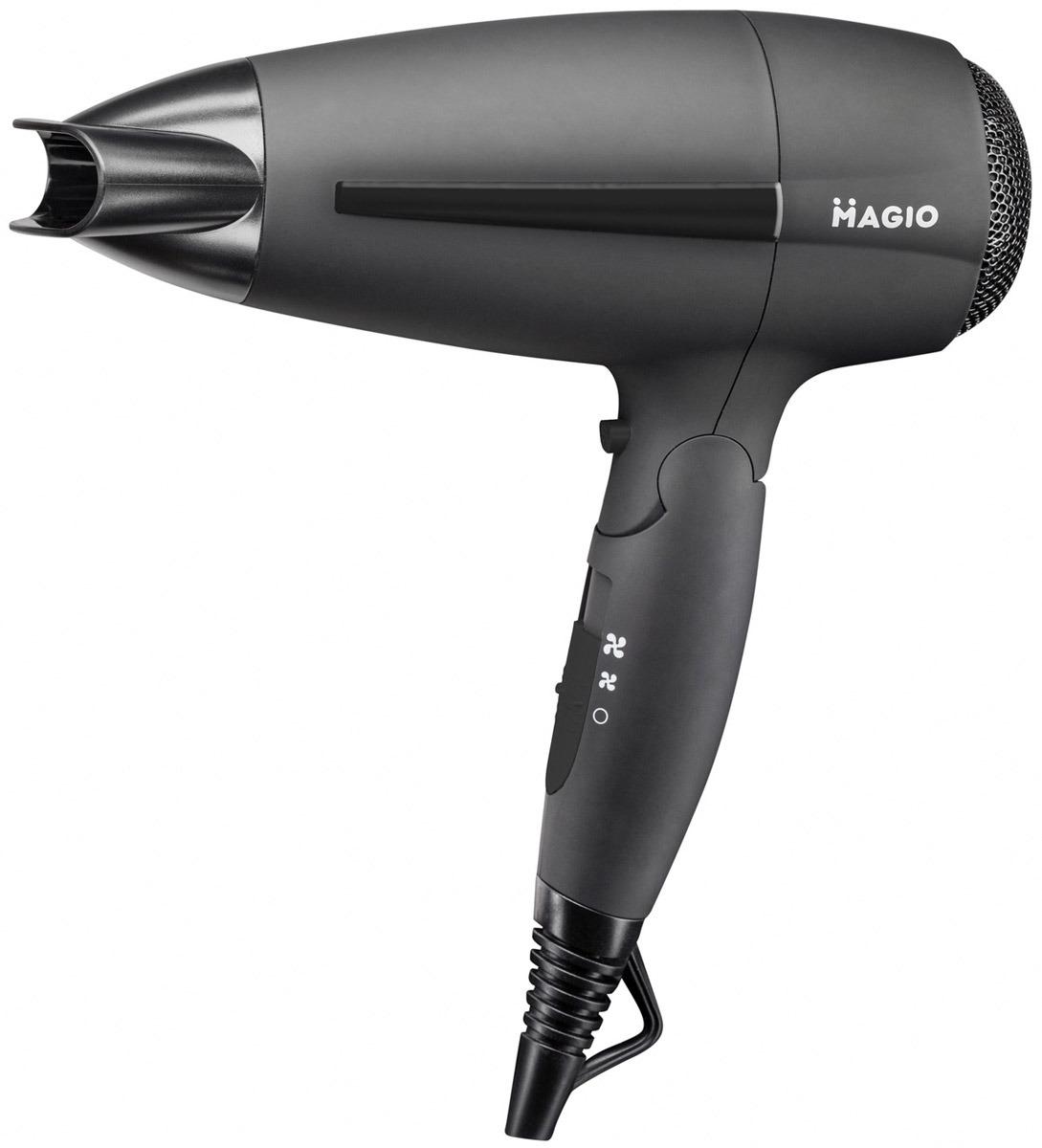 Фен для волос MAGIO Soft-Touch, со складной ручкой, 2000 Вт, МG-166