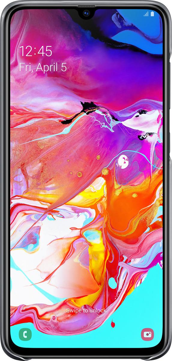 Чехол-книжка Samsung Gradation Cover для Samsung Galaxy A70, черный