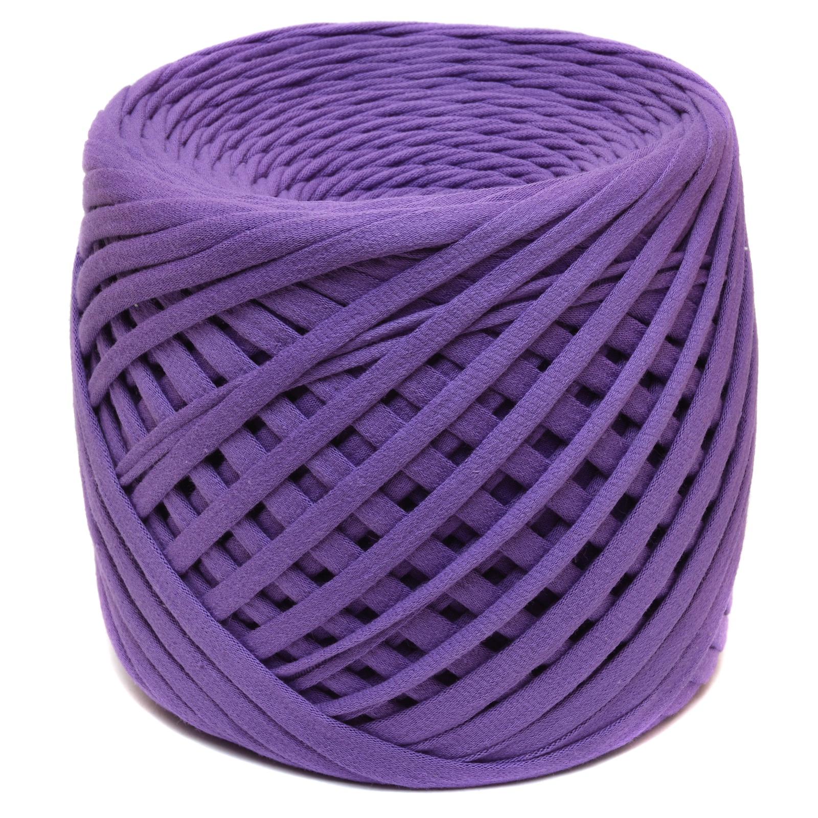Трикотажная пряжа Saltera. Цвет Фиолетовый (39)
