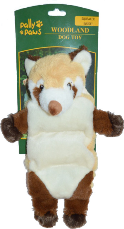 Игрушка для собак Meijing Aquarium Лиса, с пищалкой, S0717, 40 см чучела животных 30 см плюшевые игрушки собаки куклы большой подарок бесплатная доставка w244