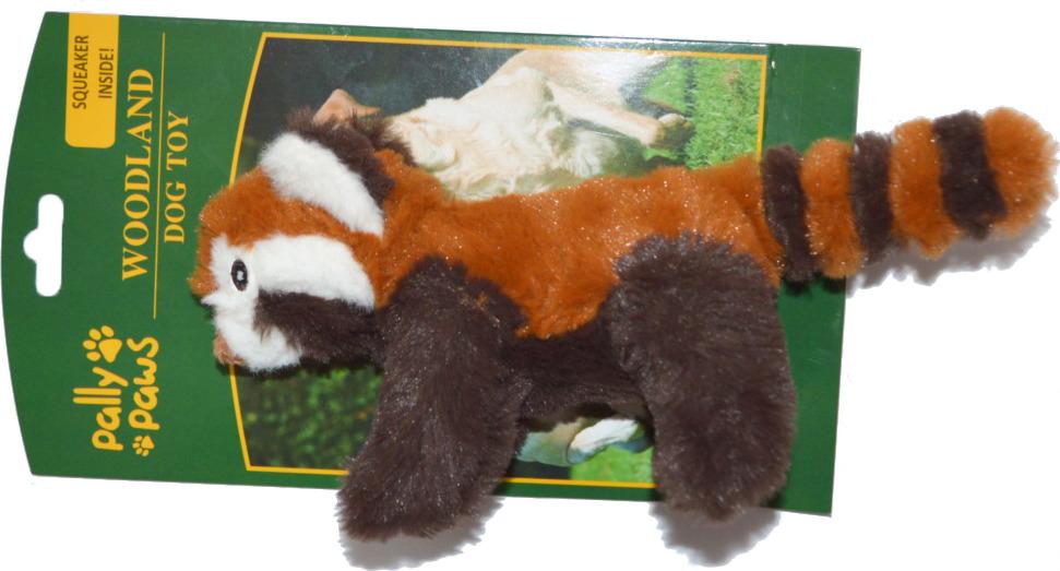 Игрушка для собак Meijing Aquarium Красная панда, с пищалкой, S0868, 18 см чучела животных 30 см плюшевые игрушки собаки куклы большой подарок бесплатная доставка w244
