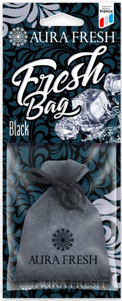 Ароматизатор автомобильный Aura Fresh Fresh Bag, Black ароматизатор dr marcus fresh bag black