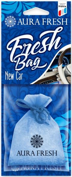 Ароматизатор автомобильный Aura Fresh Fresh Bag, New Car ароматизатор воздуха для дома