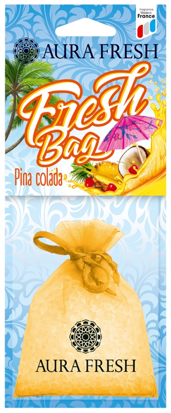 Ароматизатор автомобильный Aura Fresh Fresh Bag, Pinacolada ароматизатор воздуха для дома
