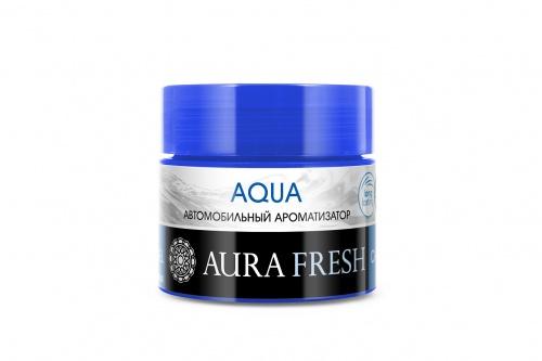 Фото - Ароматизатор автомобильный Aura Fresh Car Gel, Aqua, на панель авто