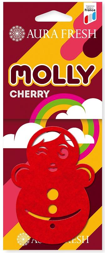 Ароматизатор автомобильный Aura Fresh Molly, Cherry ароматизатор воздуха для дома