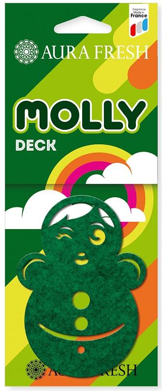 Ароматизатор автомобильный Aura Fresh Molly, Deck ароматизатор воздуха для дома