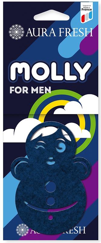 Ароматизатор автомобильный Aura Fresh Molly, For Man ароматизатор воздуха для дома