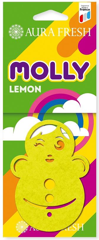 Ароматизатор автомобильный Aura Fresh Molly, Lemon ароматизатор воздуха для дома