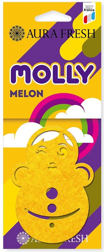 Ароматизатор автомобильный Aura Fresh Molly, Melon ароматизатор воздуха для дома