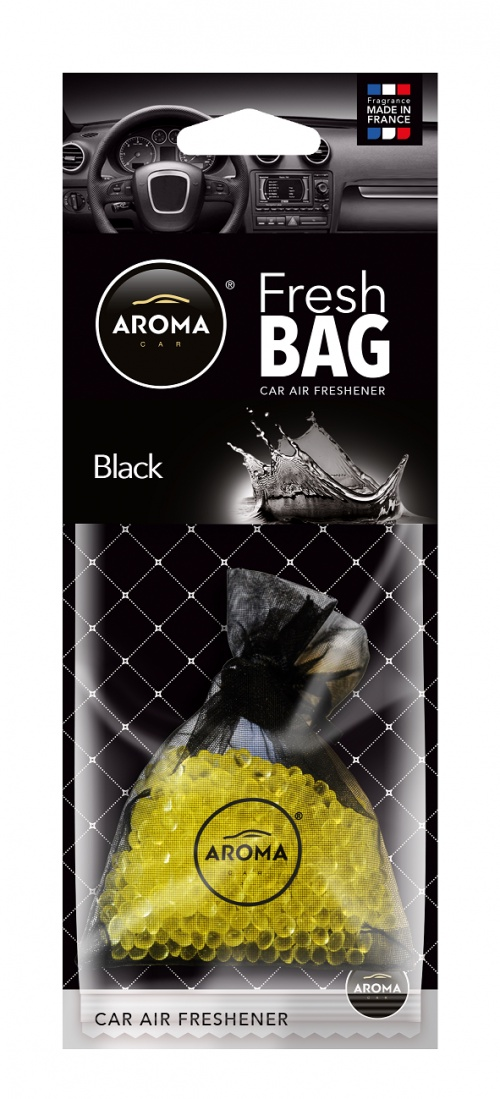 Автомобильный ароматизатор Aroma Car Fresh Bag, Black ароматизатор dr marcus fresh bag black