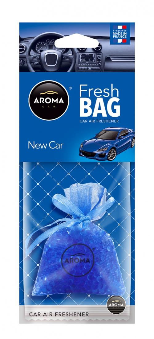 Автомобильный ароматизатор Aroma Car Fresh Bag, New car автомобильный ароматизатор golden snail aroma football ванильный крем