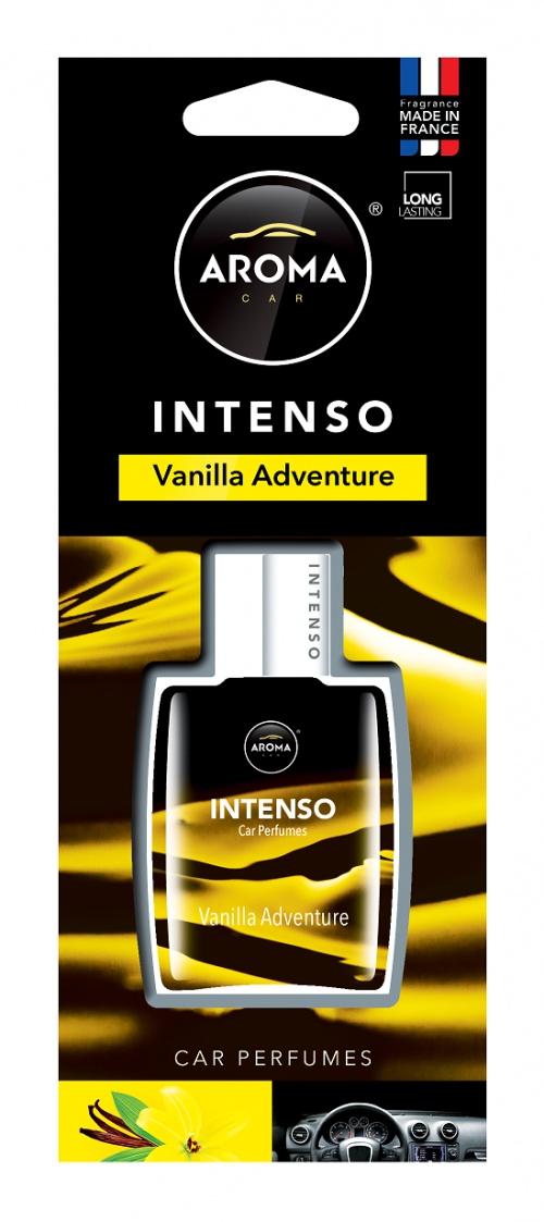 Автомобильный ароматизатор Aroma Car Intenso Perfume, Vanilla Adventure ароматизатор автомобильный aroma car intenso perfume aqua blue подвесной ac92171
