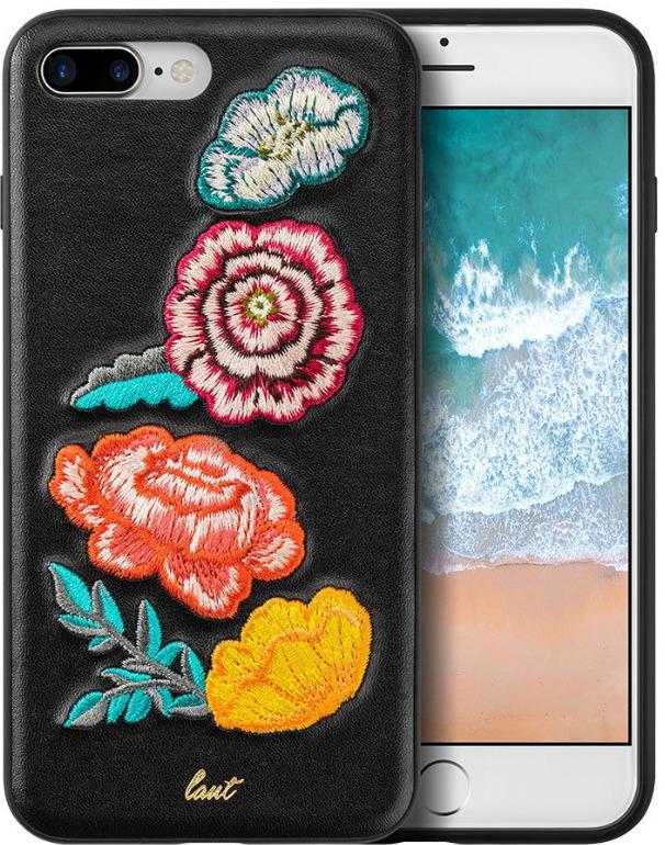 Чехол для сотового телефона Laut Pop Bouquet для Apple iPhone 7/8 Plus, черный