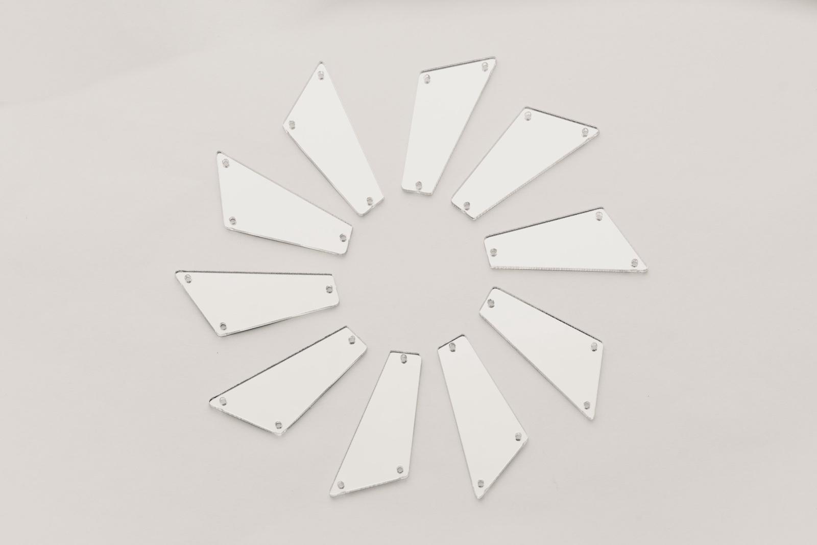 Стразы CASP Lase Четырехугольник 38х19