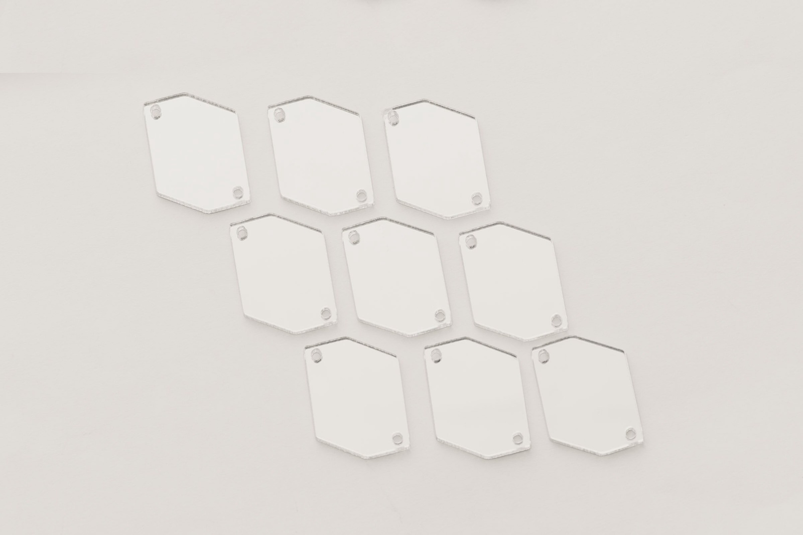 Стразы CASP Lase Шестиугольник 25х20