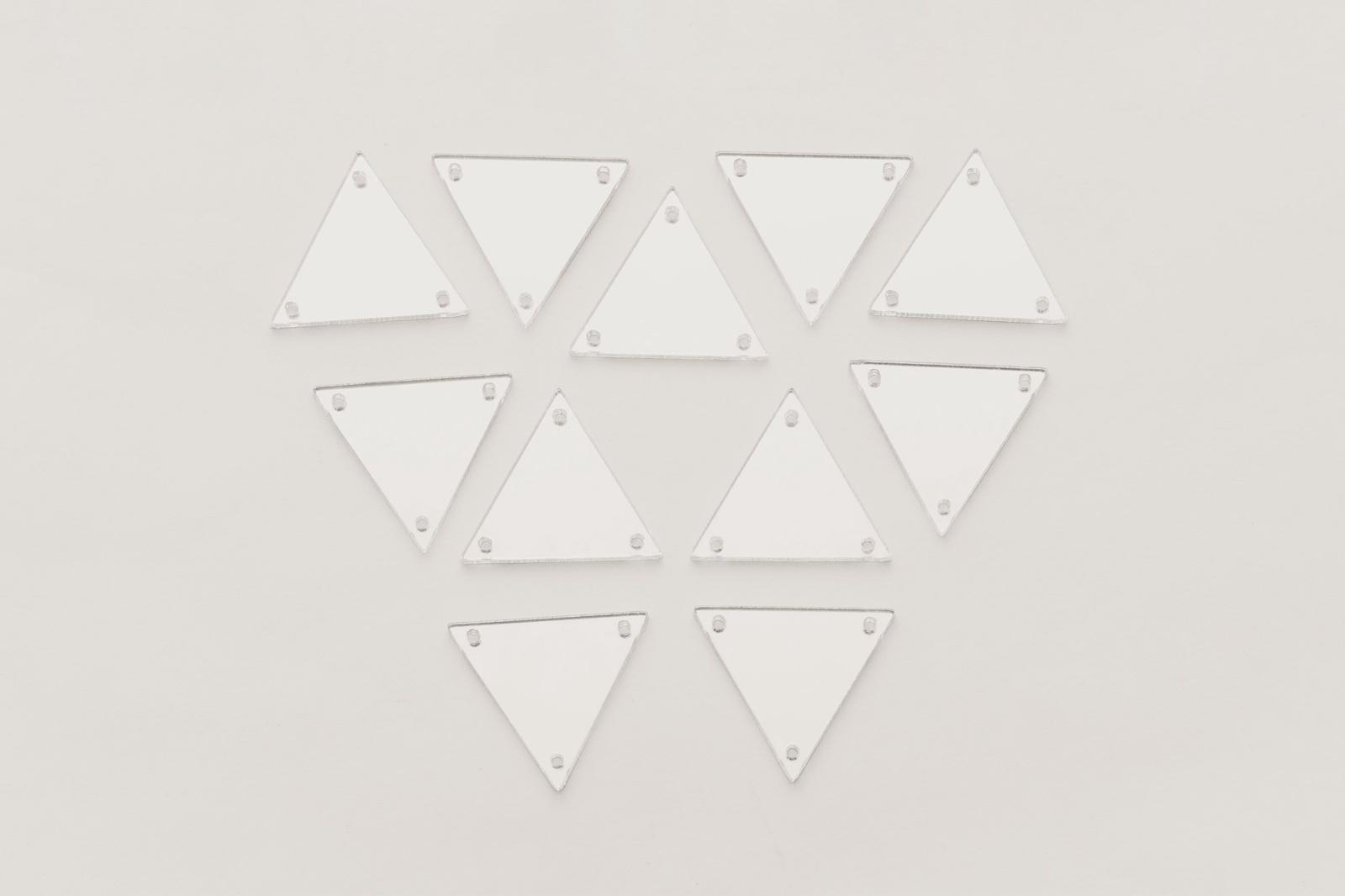 CASP Lase ТРЕ30 Комплект акриловых пришивных зеркал/страз Треугольник