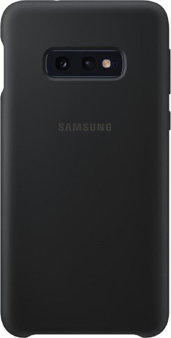 Чехол-накладка Samsung Silicone Cover для Samsung Galaxy S10e, черный