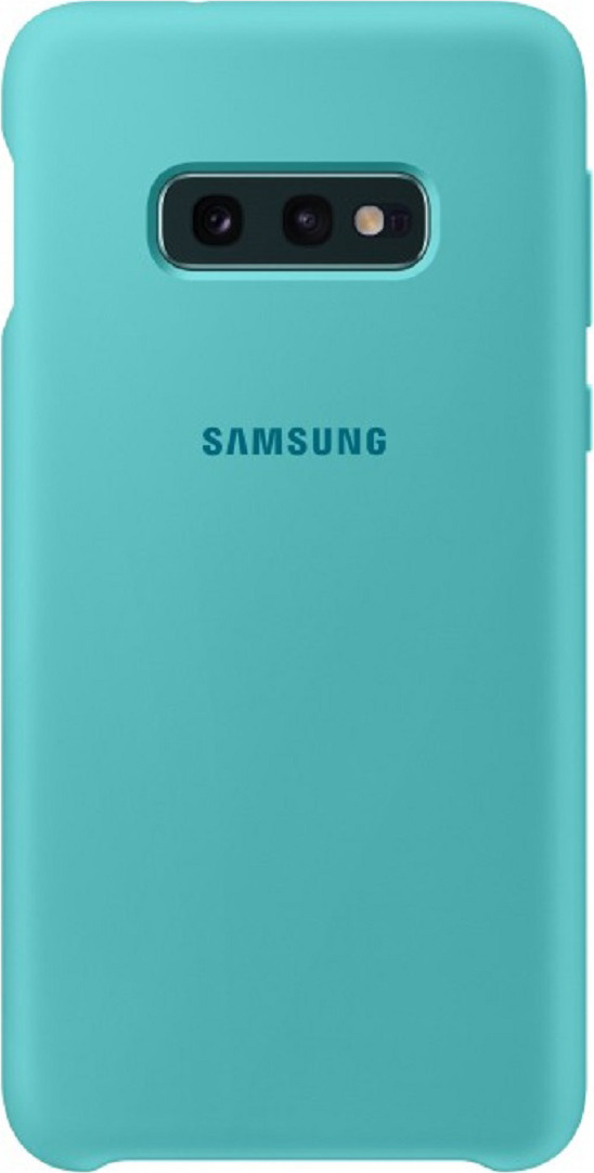 Чехол-накладка Samsung Silicone Cover для Samsung Galaxy S10e, зеленый