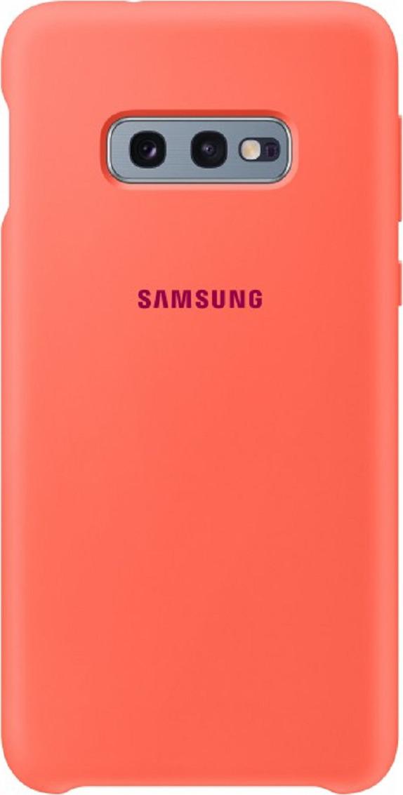 Чехол-накладка Samsung Silicone Cover для Samsung Galaxy S10e, розовый