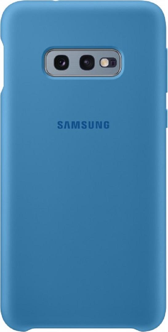 Чехол-накладка Samsung Silicone Cover для Samsung Galaxy S10e, голубой