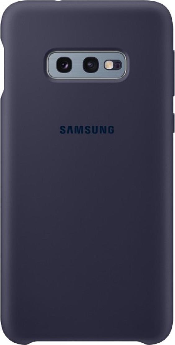 Чехол-накладка Samsung Silicone Cover для Samsung Galaxy S10e, синий