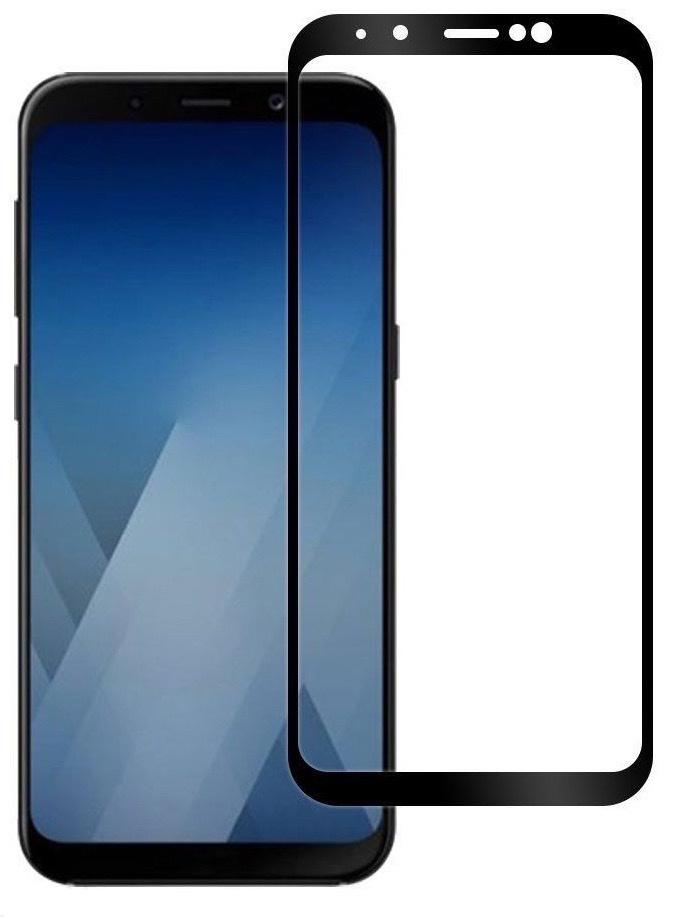 Защитное стекло Gurdini противоударное Full Screen 2.5D 0.26mm bl для Samsung Galaxy J4 Plus, черный