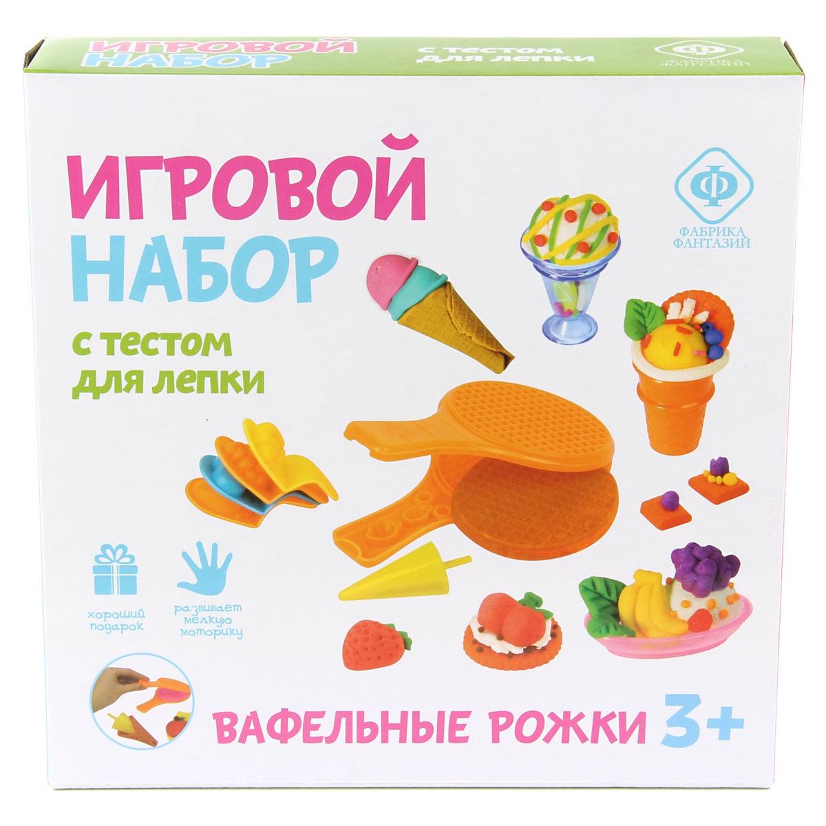 Масса для лепки Фабрика Фантазий 70824 Приготовить фигурное мороженое очень...