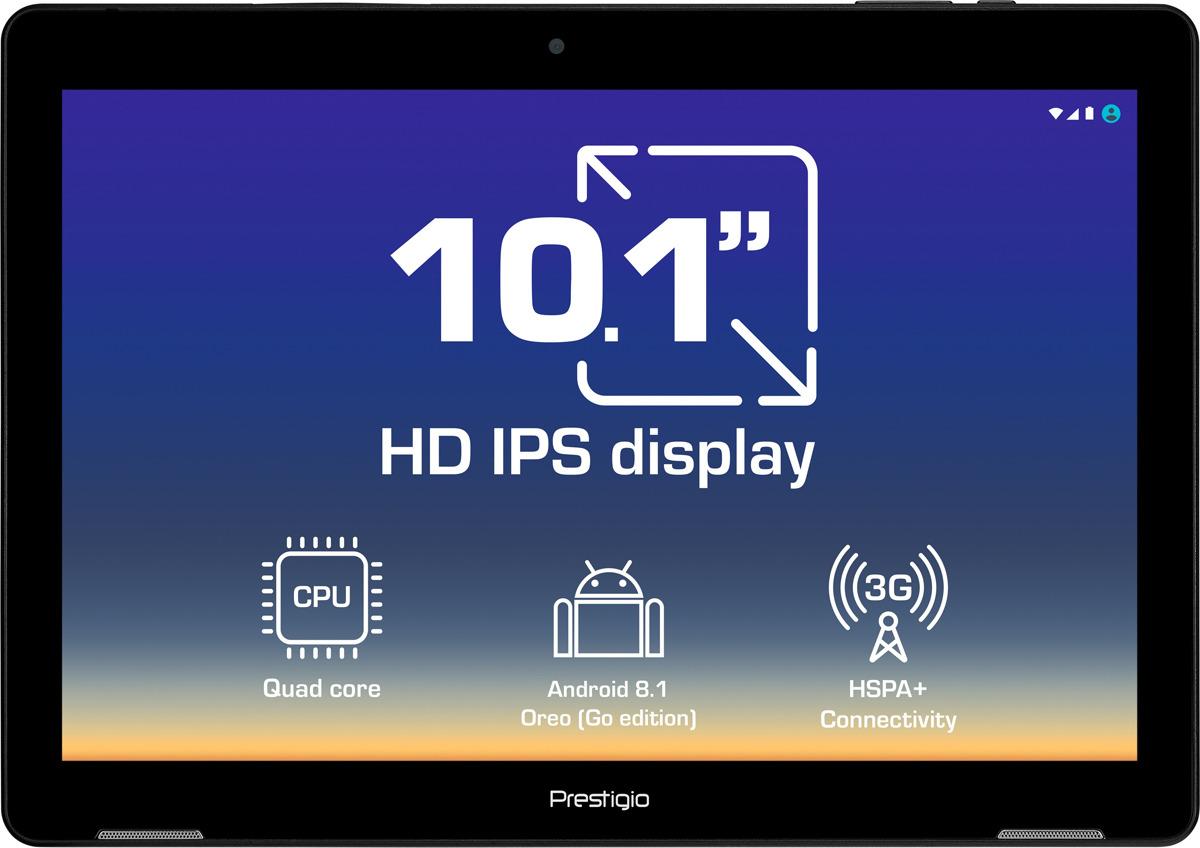 "10.1"" Планшет Prestigio Wize 3761 3G 16 GB, черный"