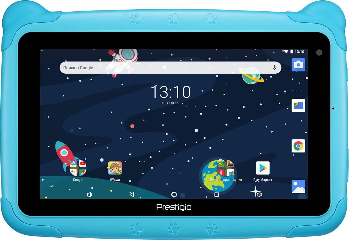 Планшет Prestigio Smartkids Wi-Fi 16 ГБ, синий планшет prestigio pmt3318 цена