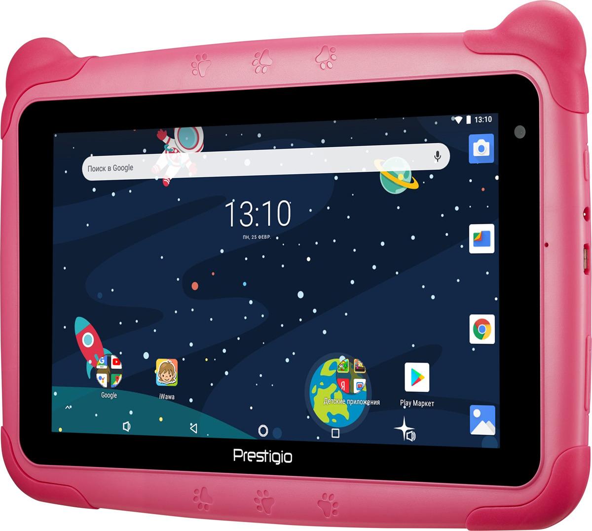 "детский планшет prestigio smartkids wi-fi 7"", 16 gb, синий"